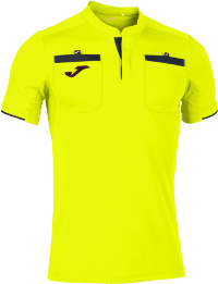 Футболка судейская JOMA CAMISETA REFEREE AMARILLO FLUOR M/C