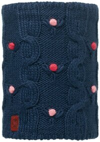 Детский шарф-труба BUFF 113535.790.10.00 JUNIOR KNITTED & POLAR NECKWARMER BUFF DYSHA DARK NAVY