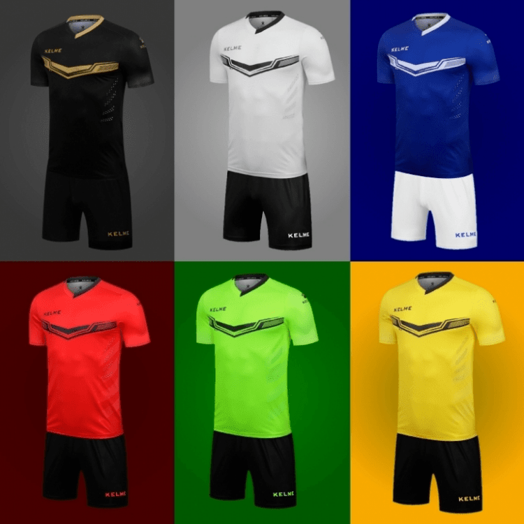 Форма футбольная Kelme SHORT SLEEVE FOOT SET
